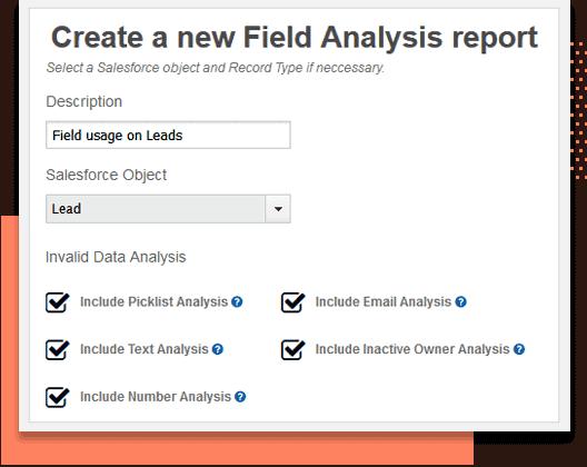 salesforce fields report